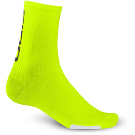 Giro HRC Team Chaussettes, highlight yellow/black